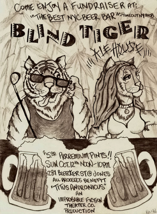 Blind Tiger October 12!